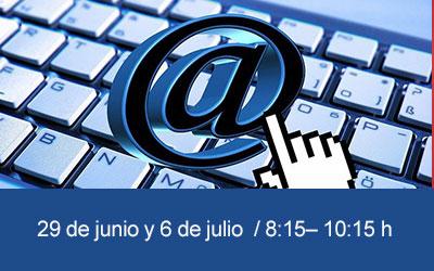 Taller TIC online Mejorar el uso y la gestión de nuestro correo electrónico