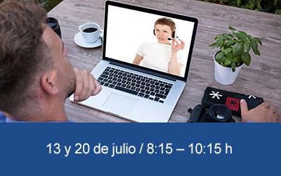 Taller TIC online Organizar videoconferencias efectivas con Zoom